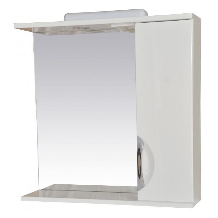 Зеркало Дельфин 50 с шкафчиком